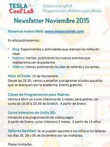 Newsletter Noviembre 2015
