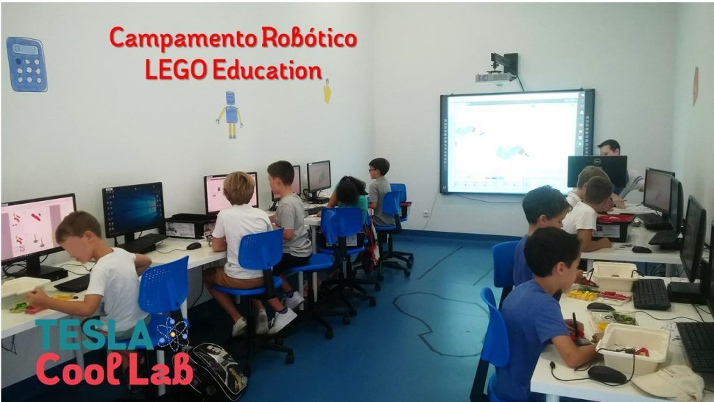campamento robotica lego education